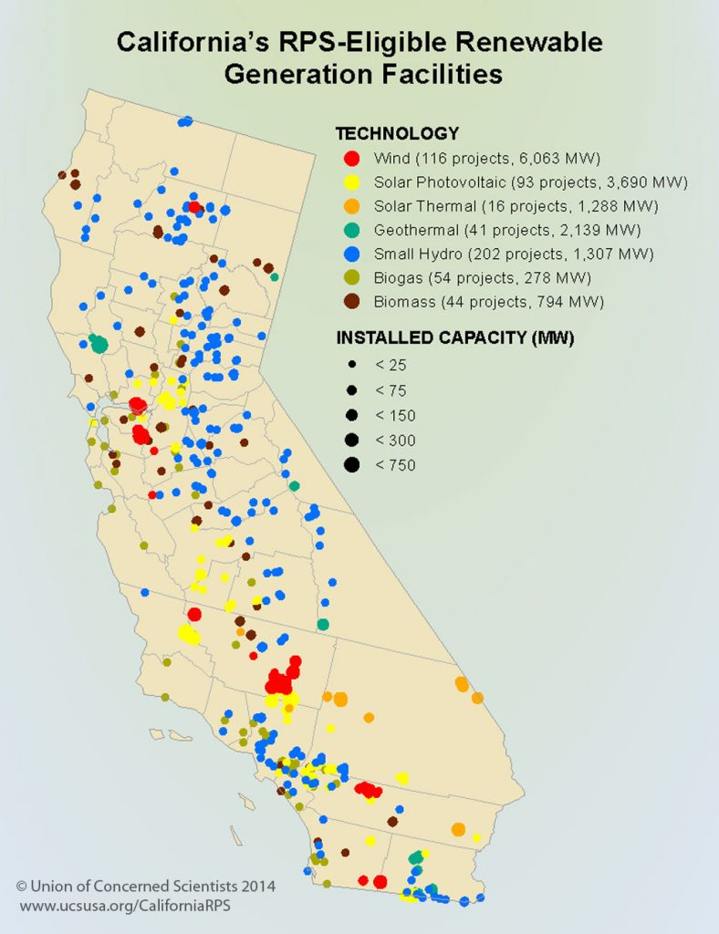 Power Reactors Decommissioning Sites Labeled Map With Nuclear Power - Thermal California Map