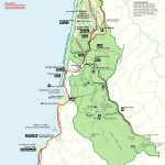 Prairie Creek Redwoods Sp In Redwood National Park , Trinidad   Trinidad California Map