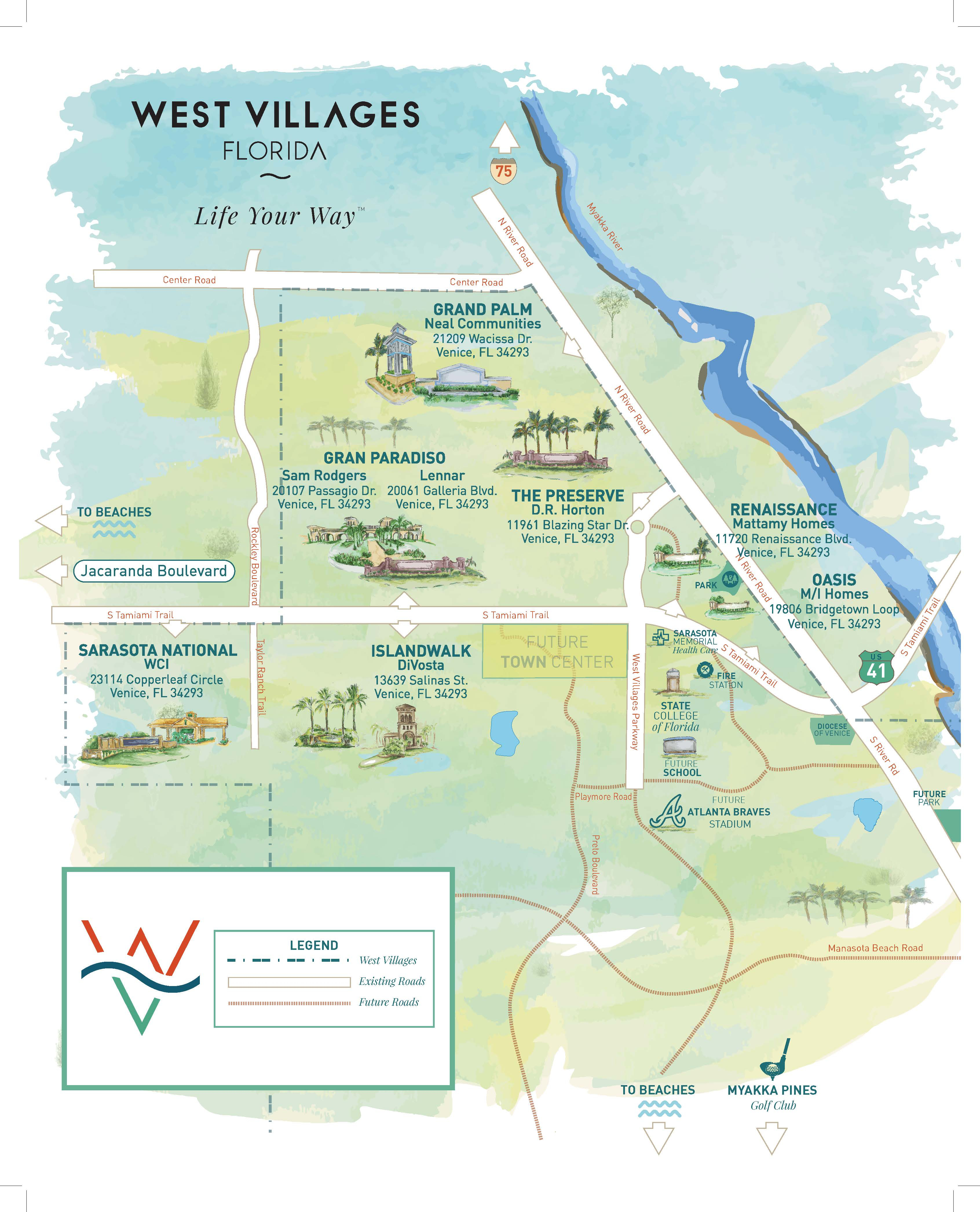 Press Releases - New Homes Sarasota, Home Builder Sarasota - Where Is Northport Florida On The Map