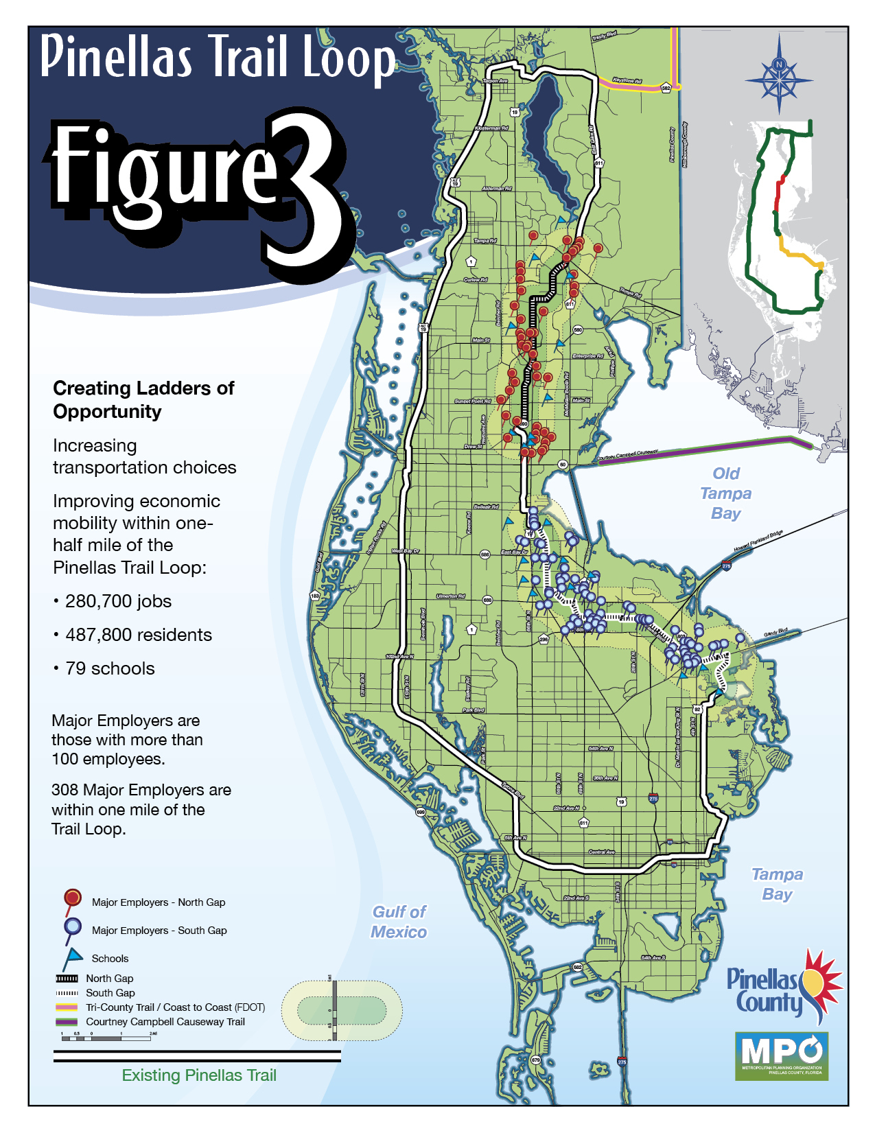 Primary Selection Criteria - Pinellas Trail Map Florida