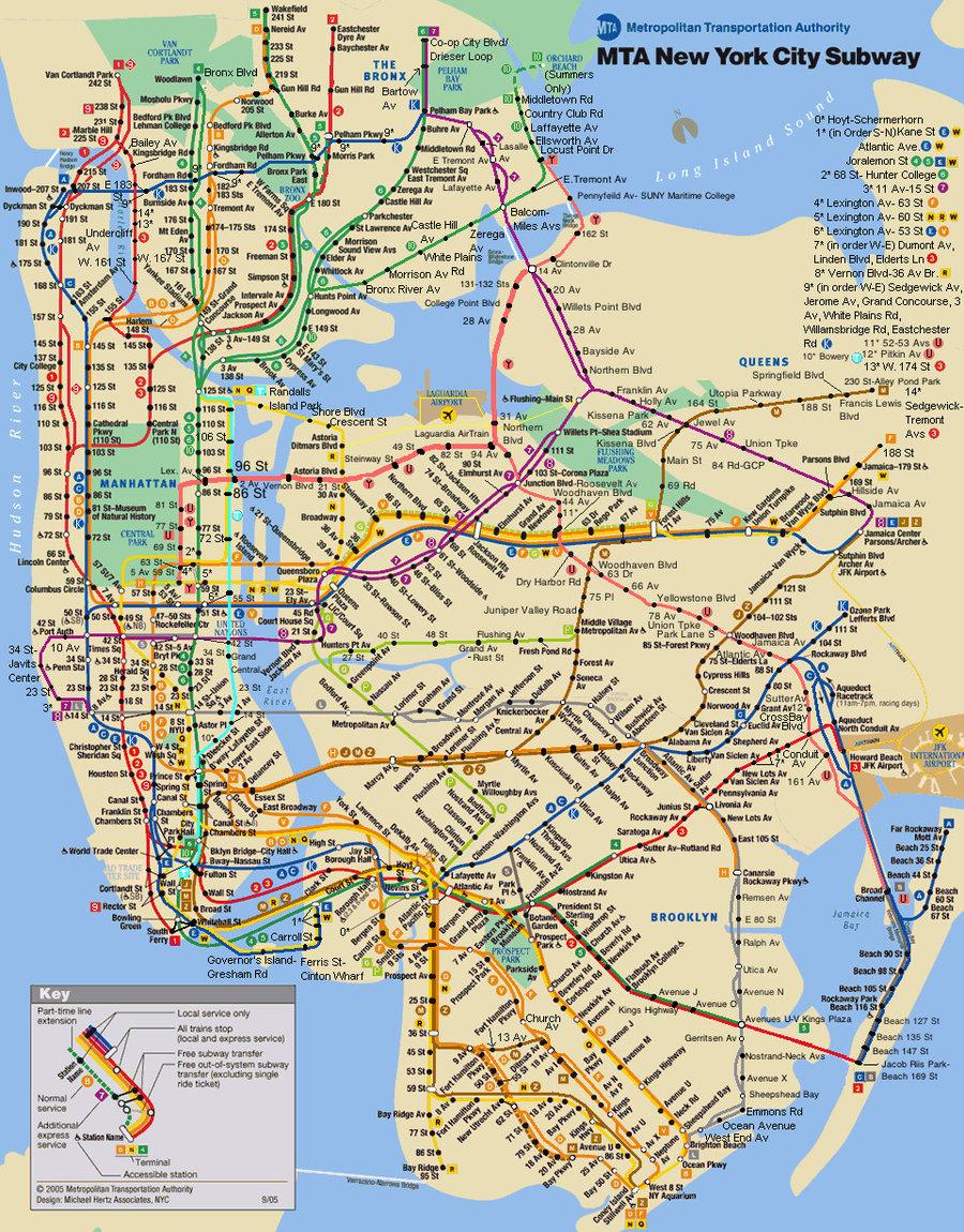 Print-Printable-New-Subway-Map-High-Res-Maps-Usa - Printable Subway Map