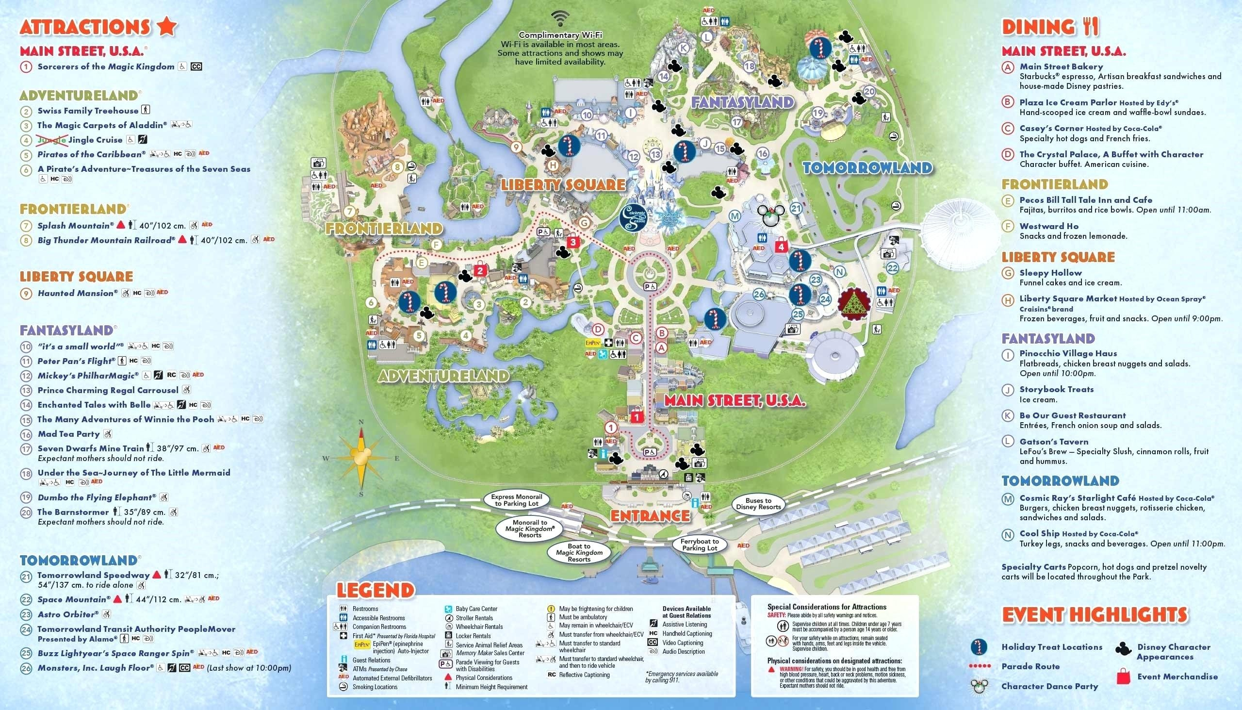 Printable Disney World Maps 2017 Awesome Google Map Orlando Copy - Printable Disney World Maps