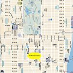 Printable Manhattan Street Map | Globalsupportinitiative   Map Of Midtown Manhattan Printable
