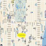 Printable Manhattan Street Map | Globalsupportinitiative   Map Of Midtown Manhattan Printable