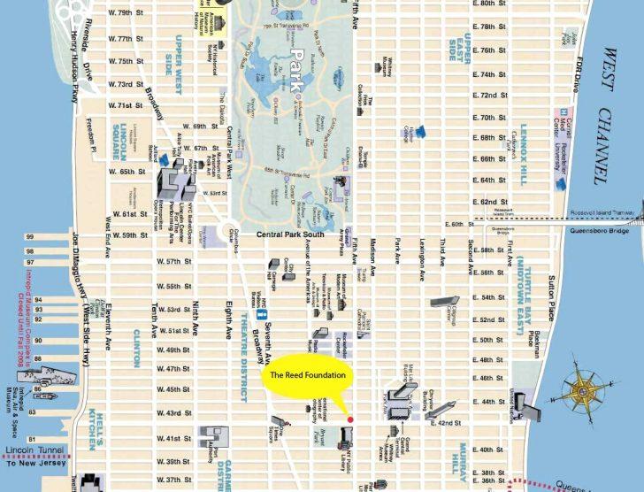 Map Of Midtown Manhattan Printable