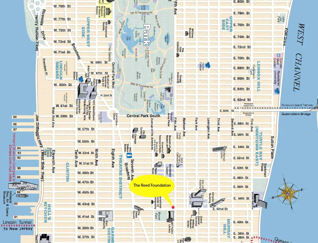 Printable Manhattan Street Map | Globalsupportinitiative - Map Of Midtown Manhattan Printable