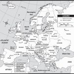 Large Map Europe | Casami - Large Map Of Europe Printable