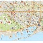 Printable Map Of Barcelona And Travel Information | Download Free   Barcelona Street Map Printable