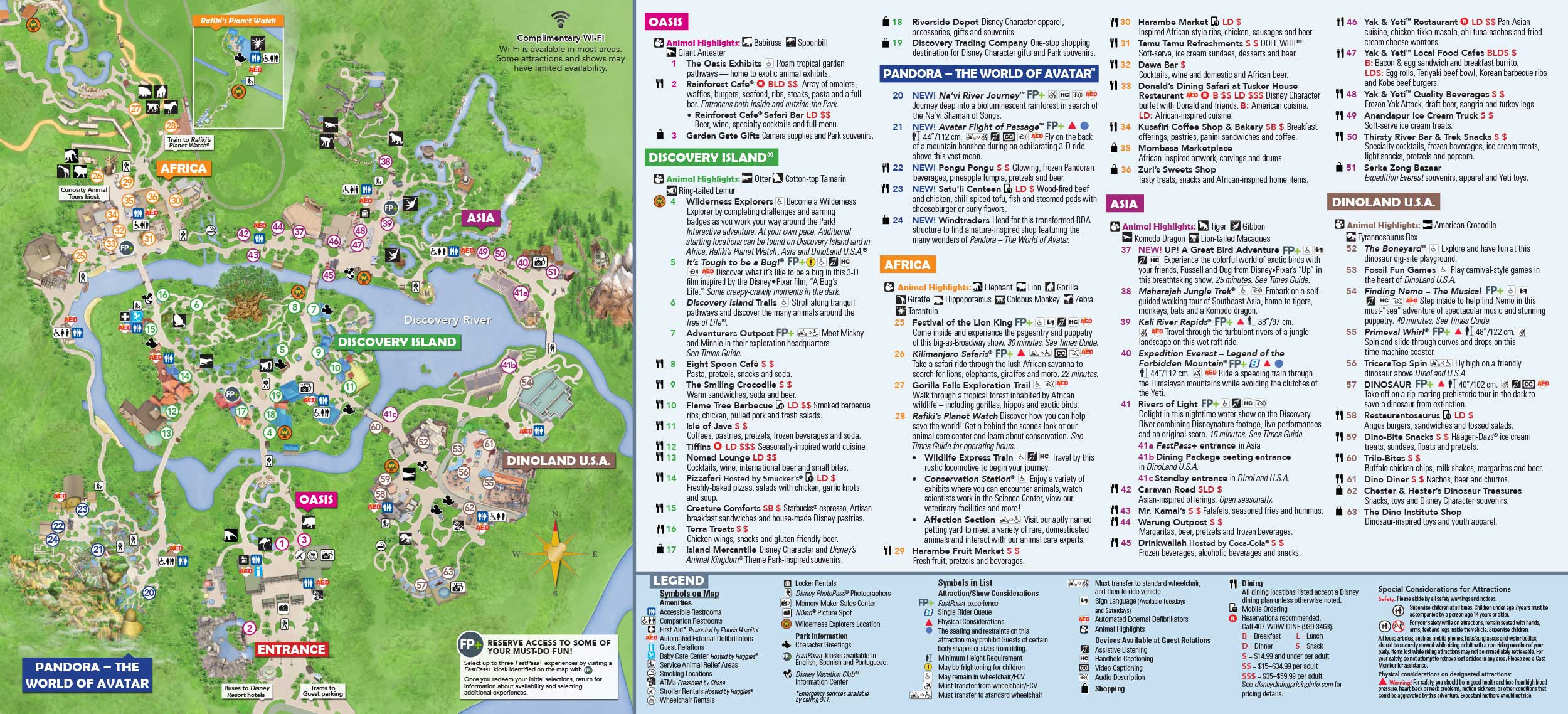 Printable Map Of Disneyland California Best Of Disney S Animal - Printable Disney Maps