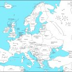 Printable Map Of Europe Labeled   17.1.hus Noorderpad.de •   Printable Map Of Europe