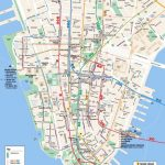Printable Map Of Manhattan Ny | Travel Maps And Major Tourist   Printable Map Of New York
