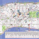 Printable Map Of New York City Landmarks Top Tourist Attractions 38   Printable Map Of Downtown New York City