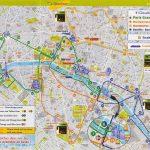 Printable Map Of Paris Download Map Paris And Attractions | Travel   Paris City Map Printable