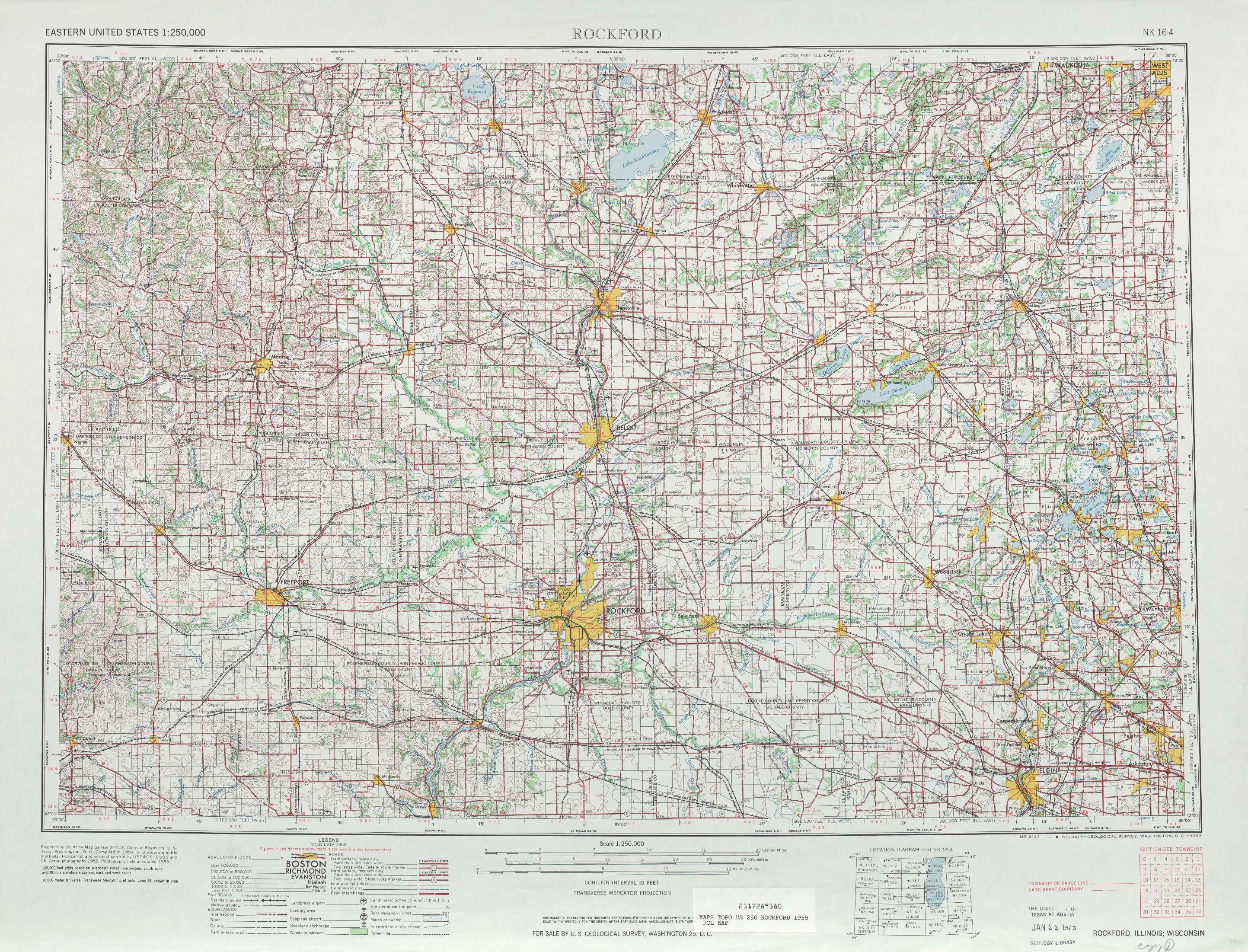 Printable Map Rockford Il | Download Them And Try To Solve - Printable Map Of Rockford Il
