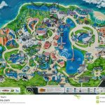 Printable Map Seaworld Orlando   Seaworld Orlando Map 2017 Printable