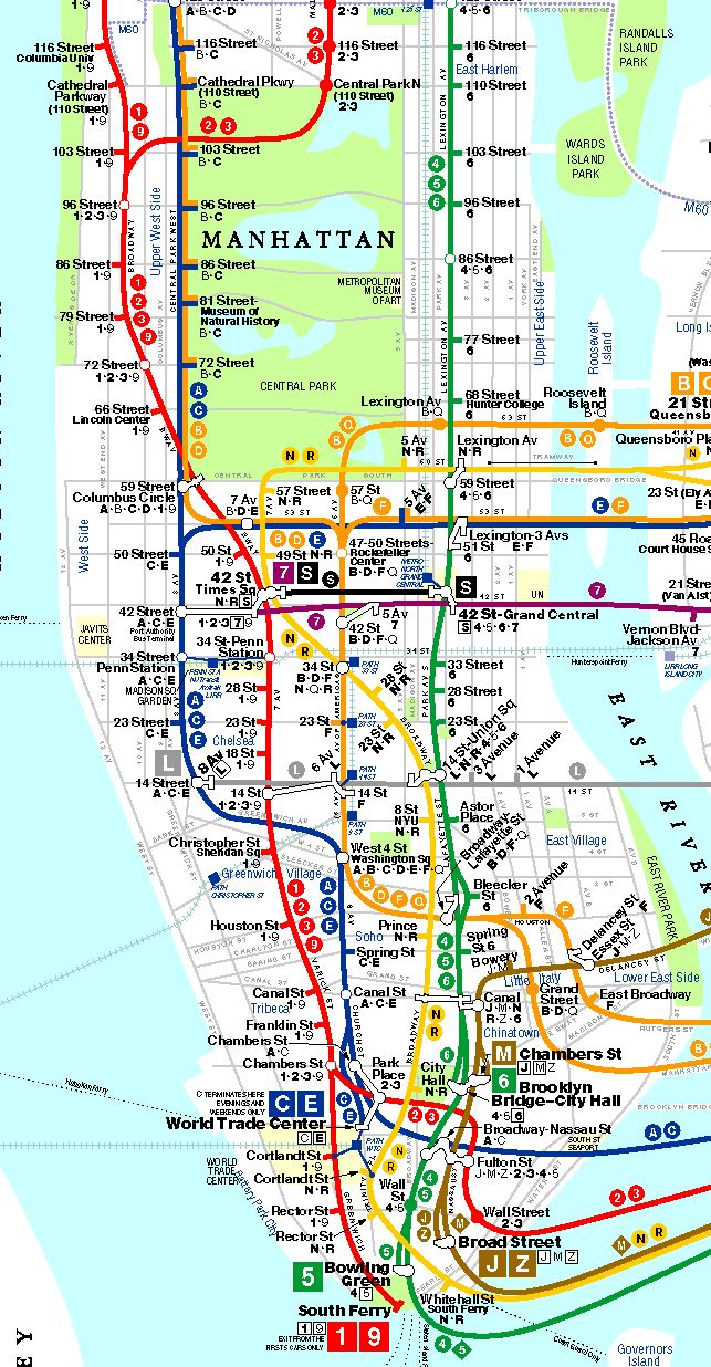 Printable New York City Map | Bronx Brooklyn Manhattan Queens | New - Printable Nyc Map Pdf