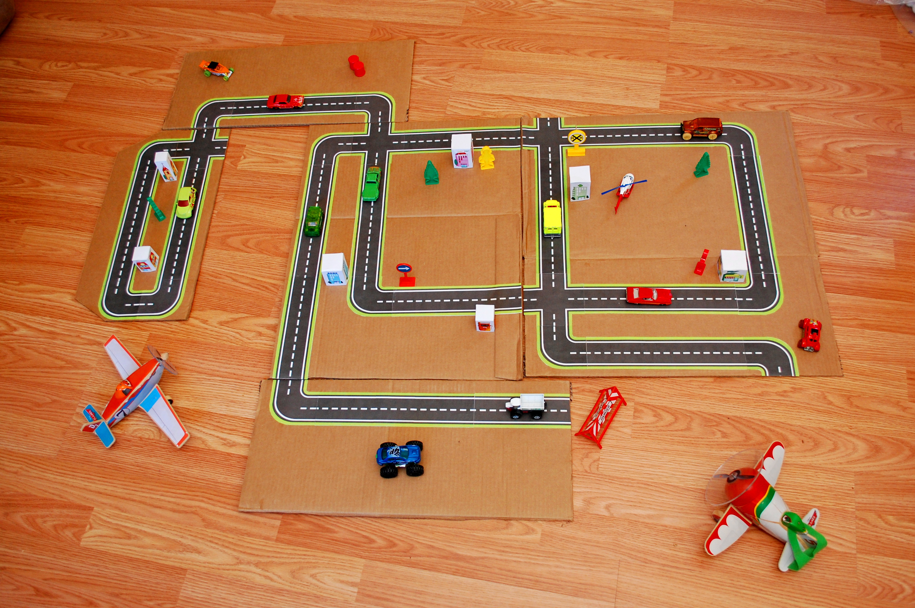 Printable Road Maps For Toy Cars | Fun Family Crafts - Free Printable Road Maps For Kids