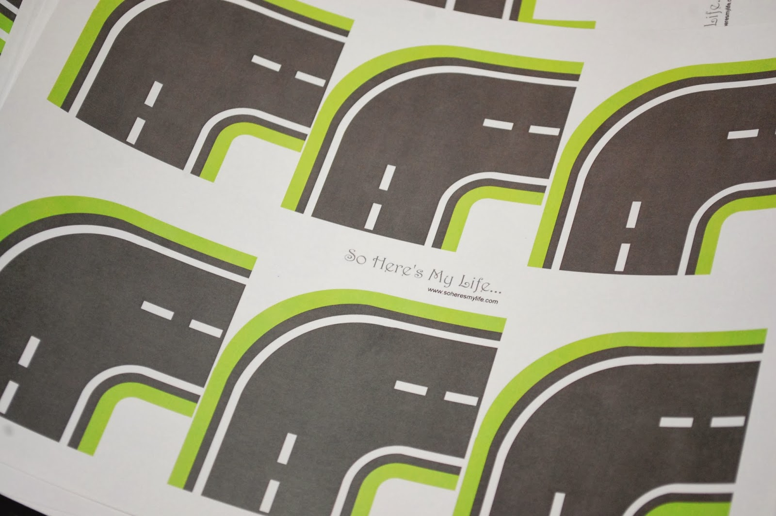Printable Roads For Kids' Toy Cars | So Here's My Life - Free Printable Road Maps For Kids