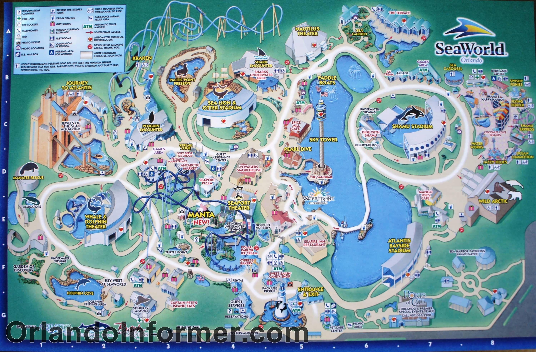 Printable Seaworld Map | Scenes From Seaworld Orlando 2011 - Photo - Seaworld San Antonio Printable Map