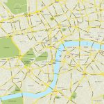 Printable Street Map Of Central London | Globalsupportinitiative   Printable Street Maps Free