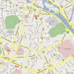 Printable Street Map Of Paris Download Printable Paris Street Map   Printable Map Of Paris Arrondissements