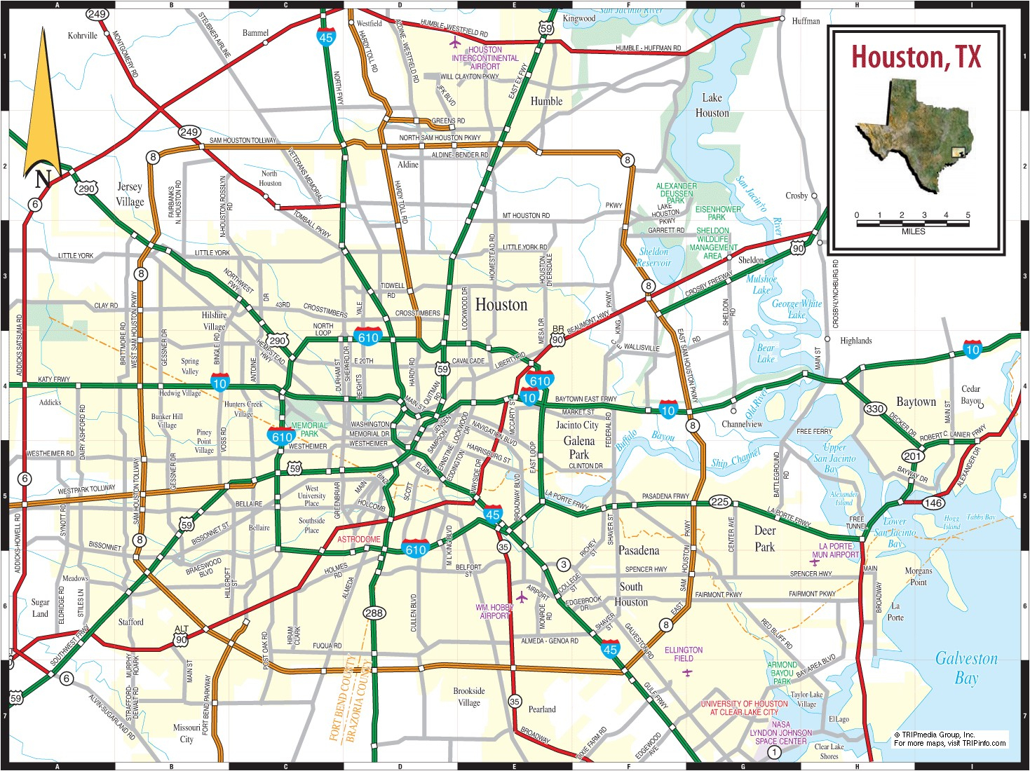 Printable Texas Road Map - Free World Maps Collection - Texas Road Map Free