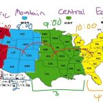 Printable Time Zone Map Usa With Cities 15 Us | Roaaar – Printable Time Zone Map Usa With States