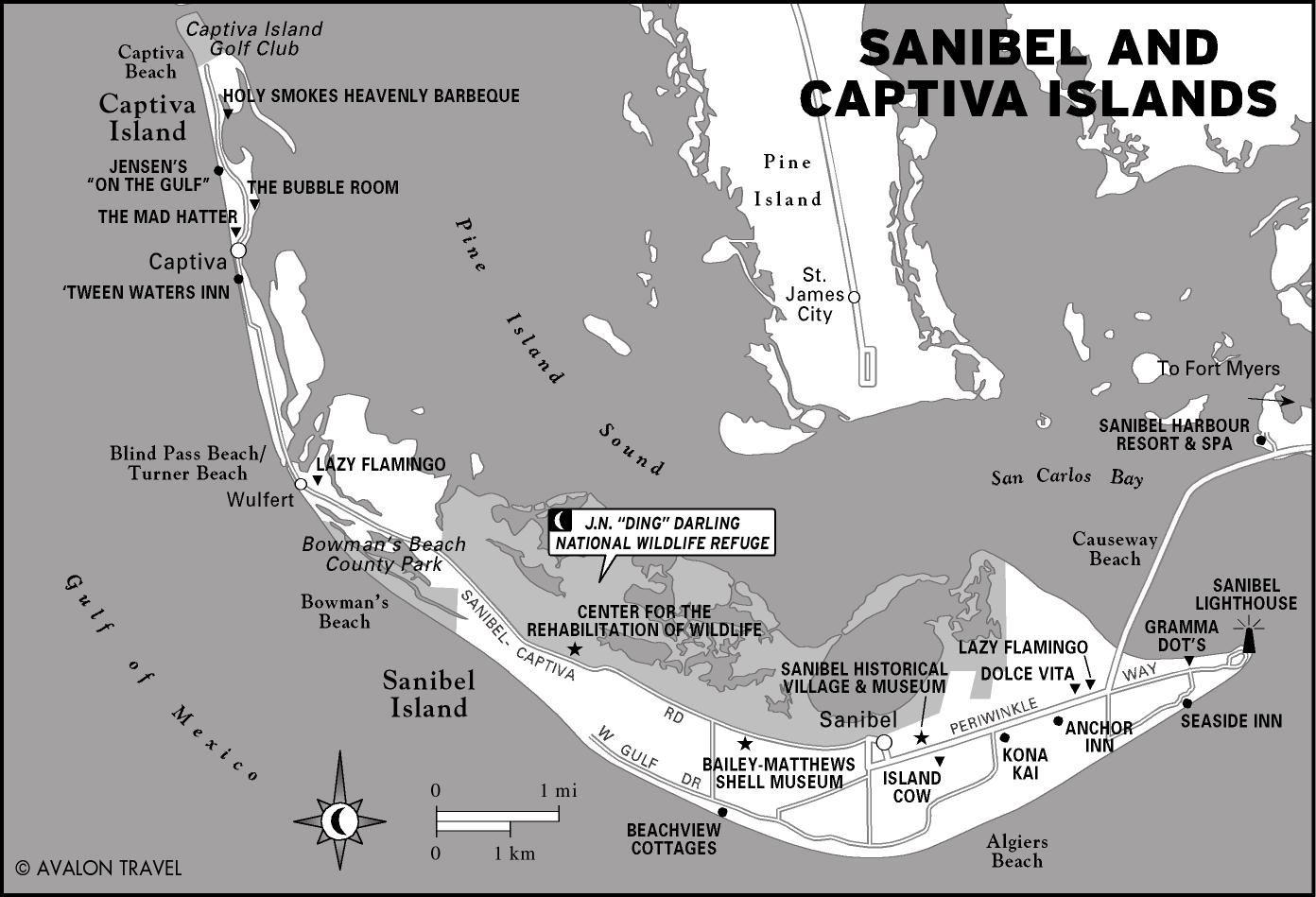 Printable Travel Maps Of Florida And The Gulf Coast   Florida - Florida Gulf Islands Map