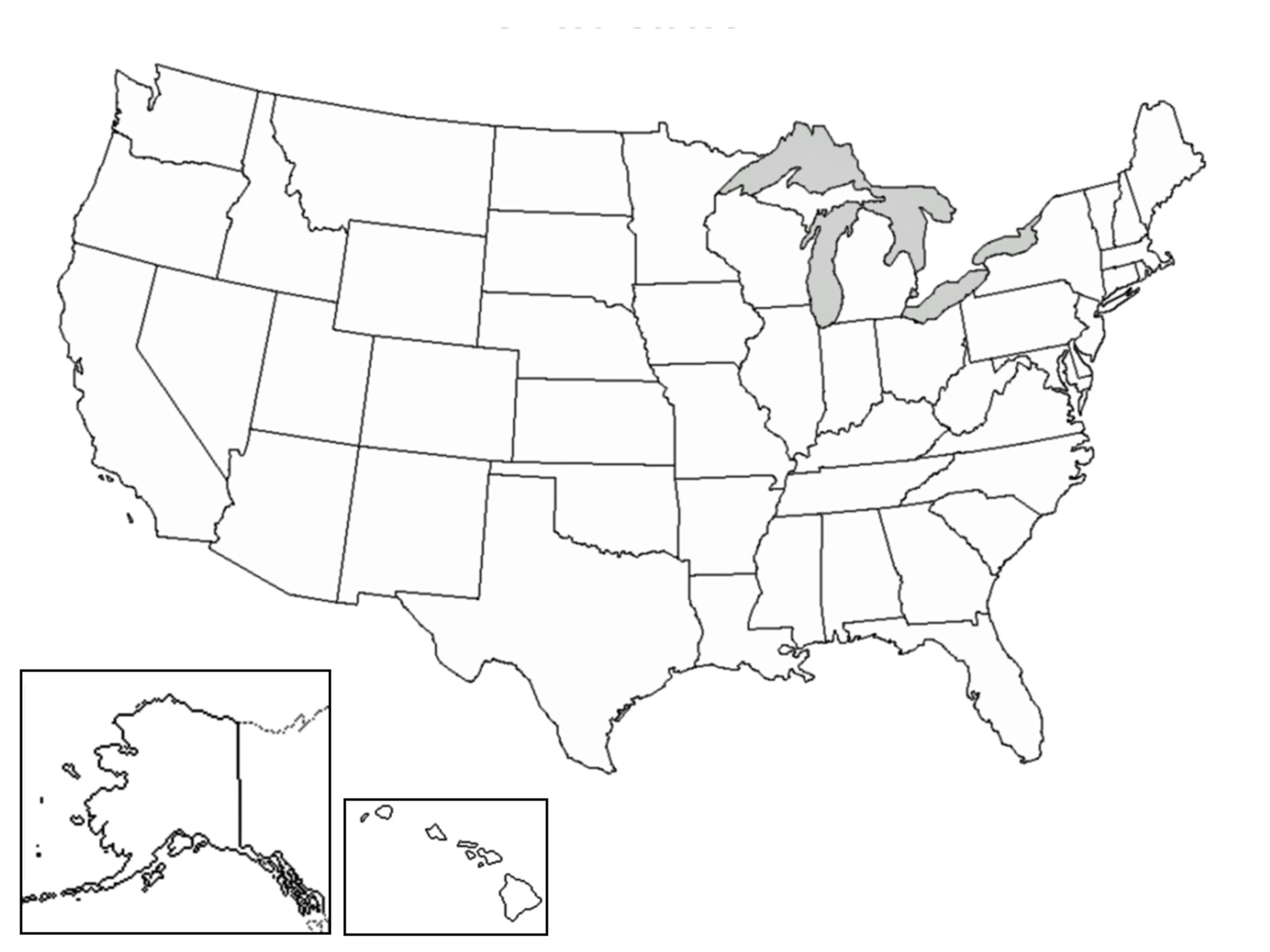Printable Us Map Full Page Usa5 Inspirationa Free Fullpage Map The - Blank Us Map Printable