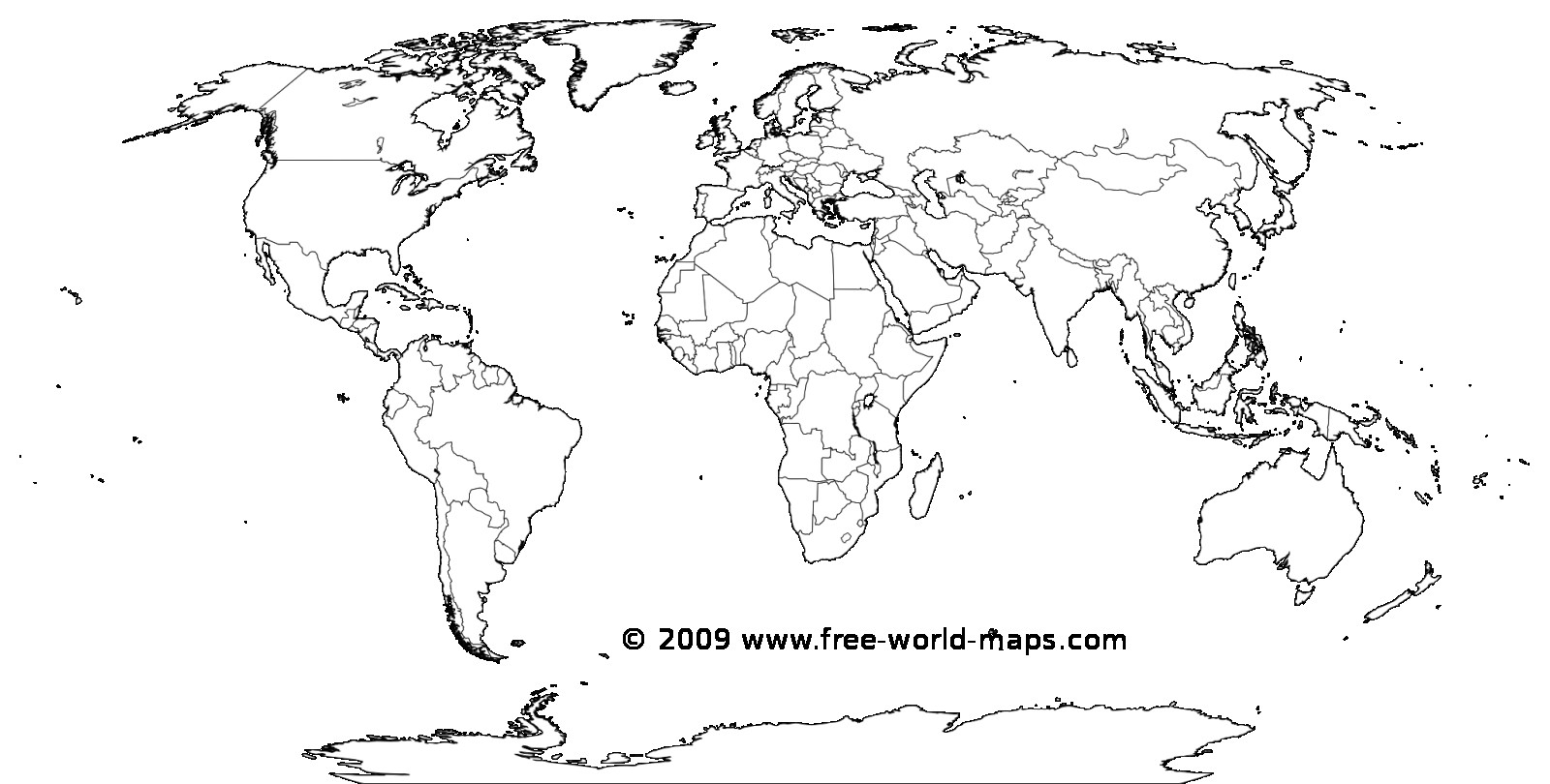 Printable White Transparent Political Blank World Map C3 0 - World - Blank World Map Printable