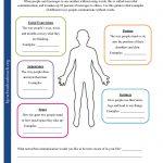 Printable Worksheets   Printable Body Maps