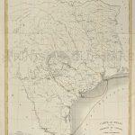 Prints Old & Rare   Texas   Antique Maps & Prints   Vintage Texas Map Framed