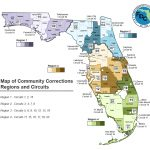 Probation Services    Florida Department Of Corrections   Map Of Sexual Predators In Florida