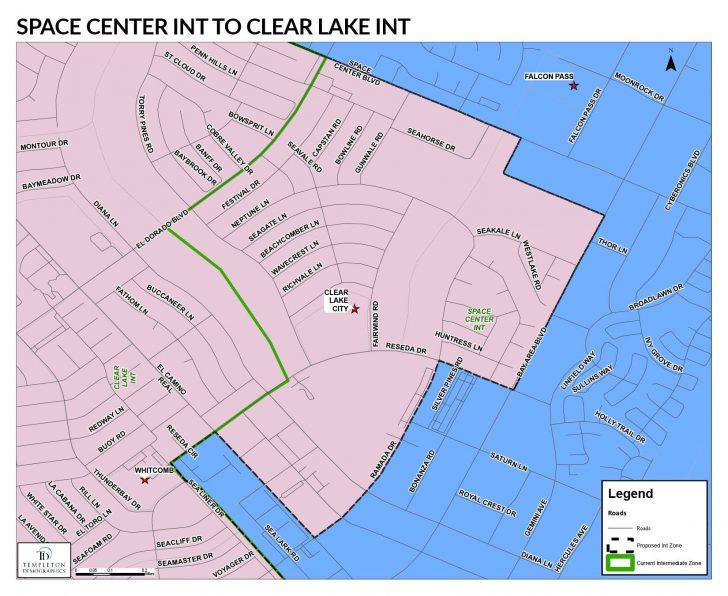 Clear Lake Texas Map