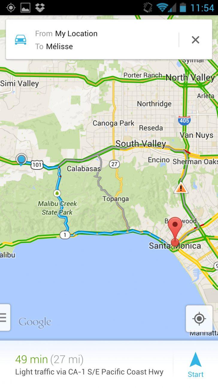 Google Maps Calabasas California