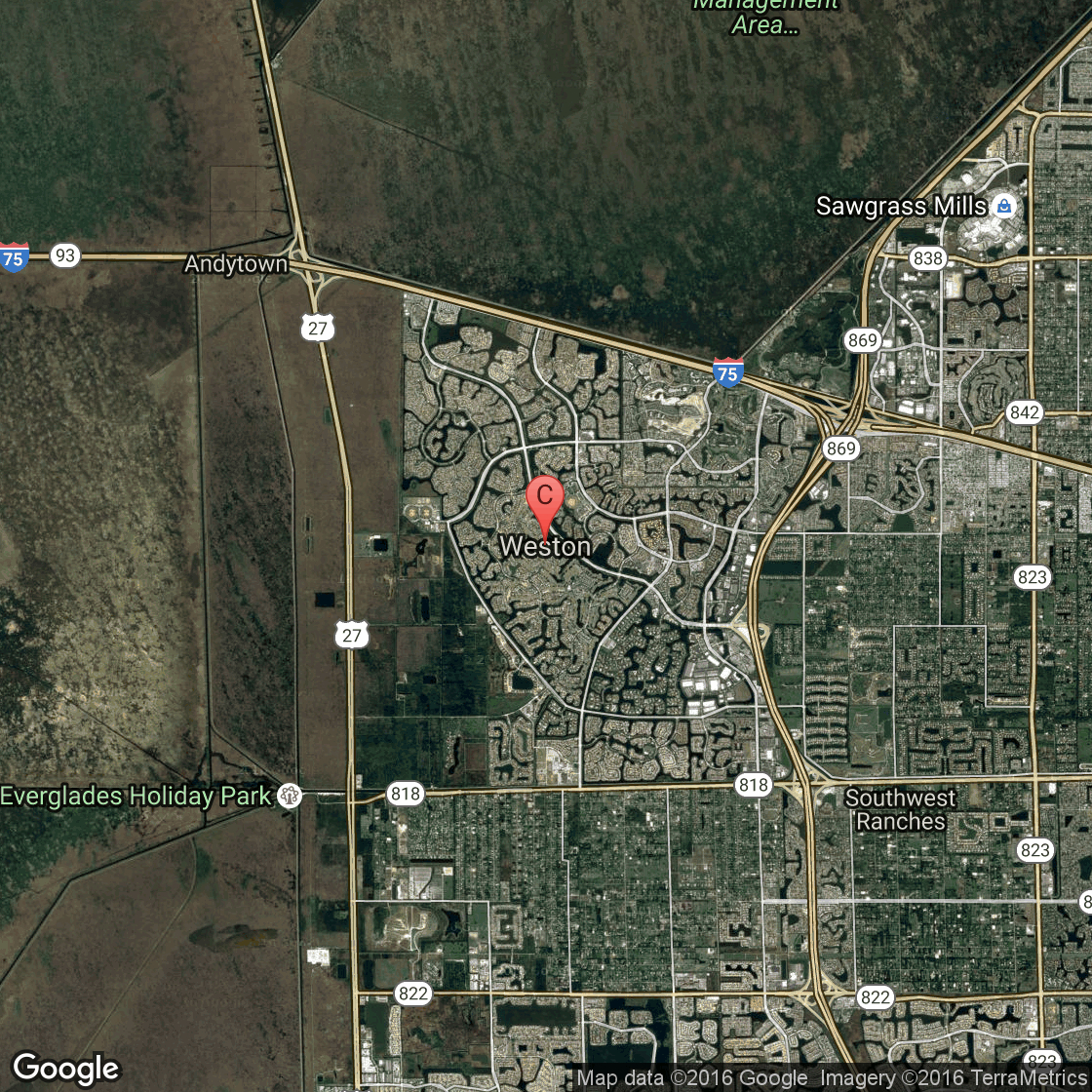 Public Golf Courses Near Weston, Florida | Usa Today - Google Maps Weston Florida