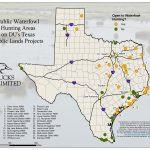 Public Hunting On Du Projects In Texas   Texas Hunting Map