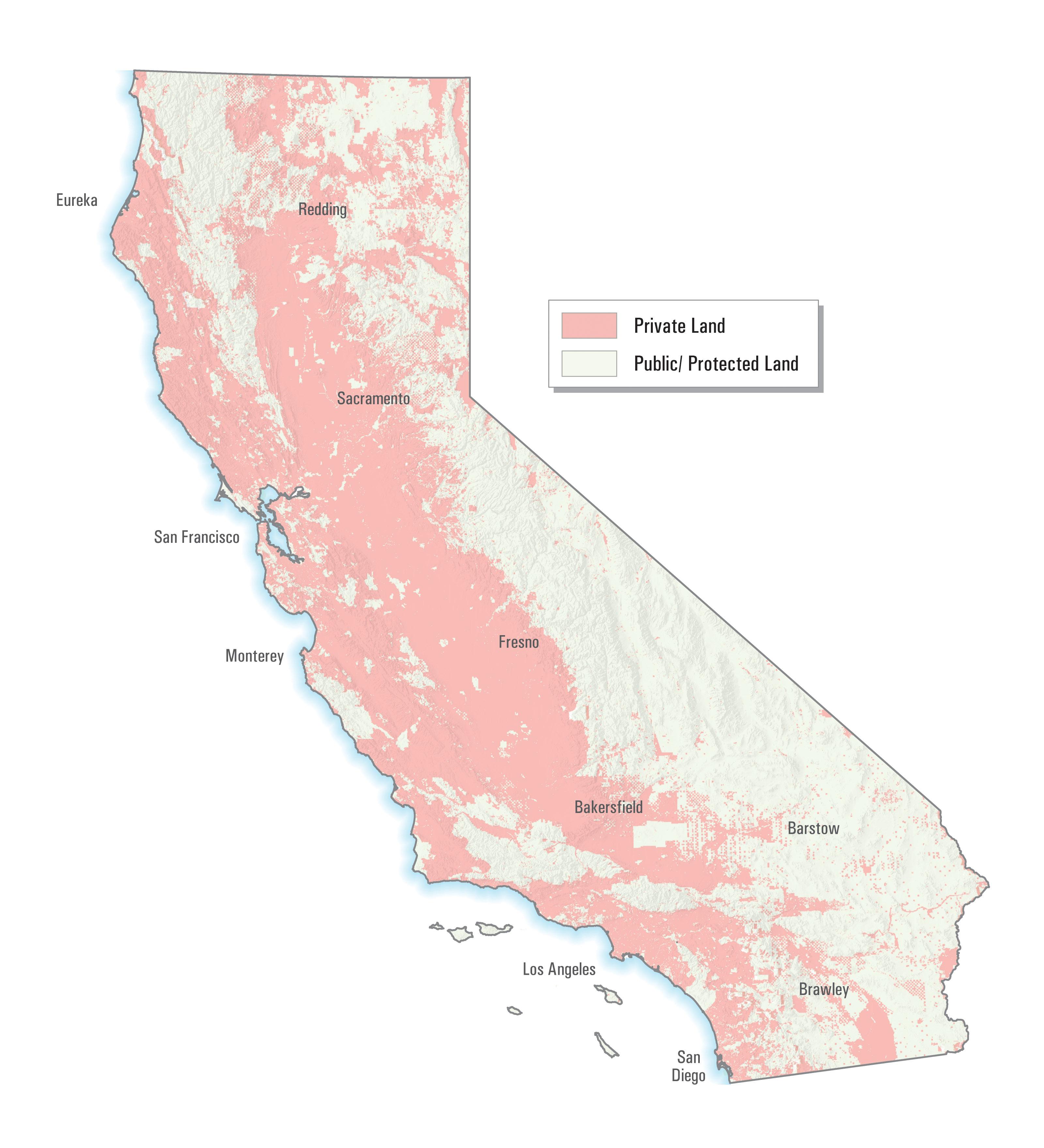 Public Land Maps California - Klipy - California Public Lands Map