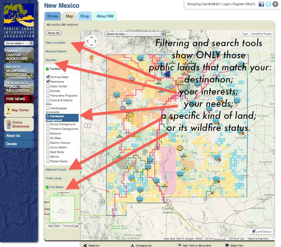 Publiclands | Oregon - Blm Maps Southern California
