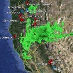 Rain And Red Flag Weather Radar Map California Google Maps   Northern California Radar Map