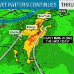 Rainy Weekend Ahead For The East Coast | The Weather Channel   California Coast Weather Map