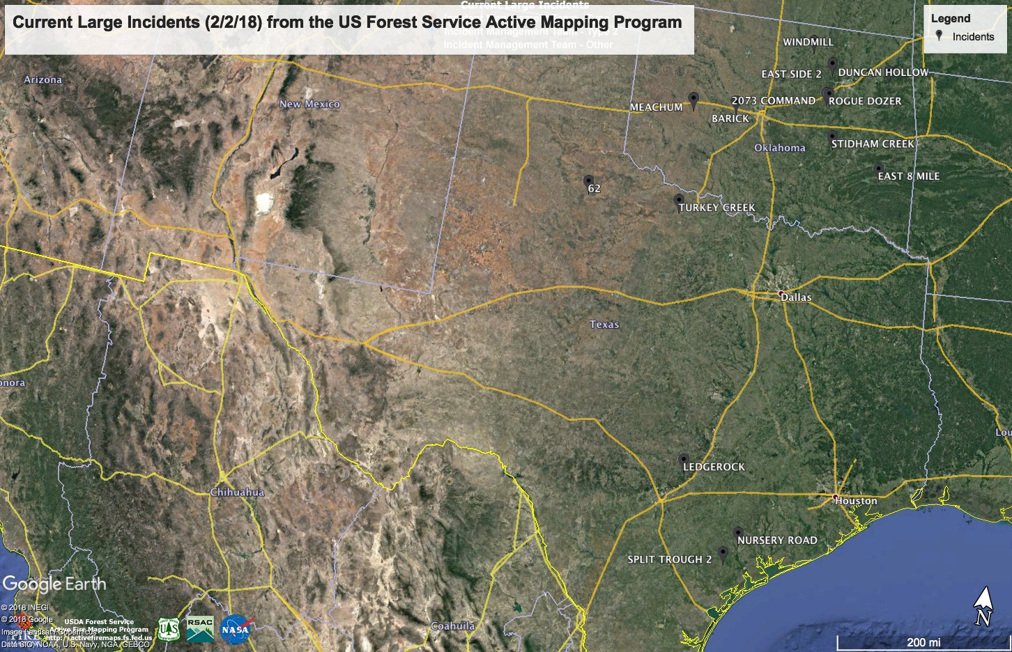 Random Ramblings: Aerial Wildland Firefighting: Some Large Wildfire - Current Texas Wildfires Map