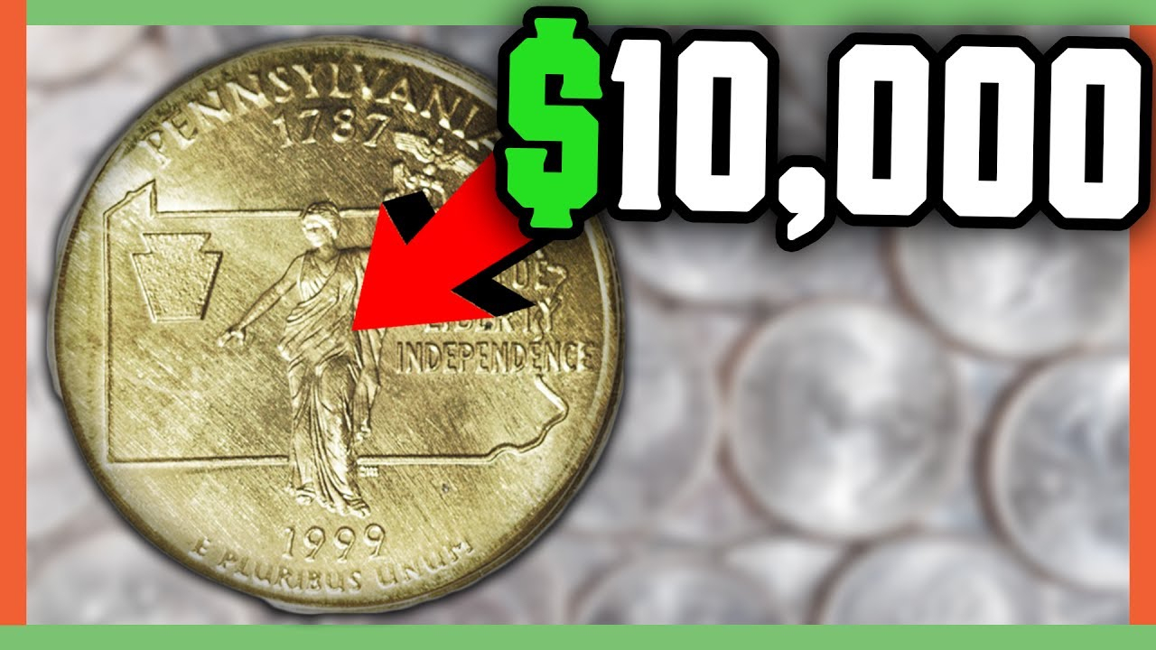 Rare State Quarters Worth Money - Error Quarters To Look For!! - Youtube - Us Quarter Map Printable