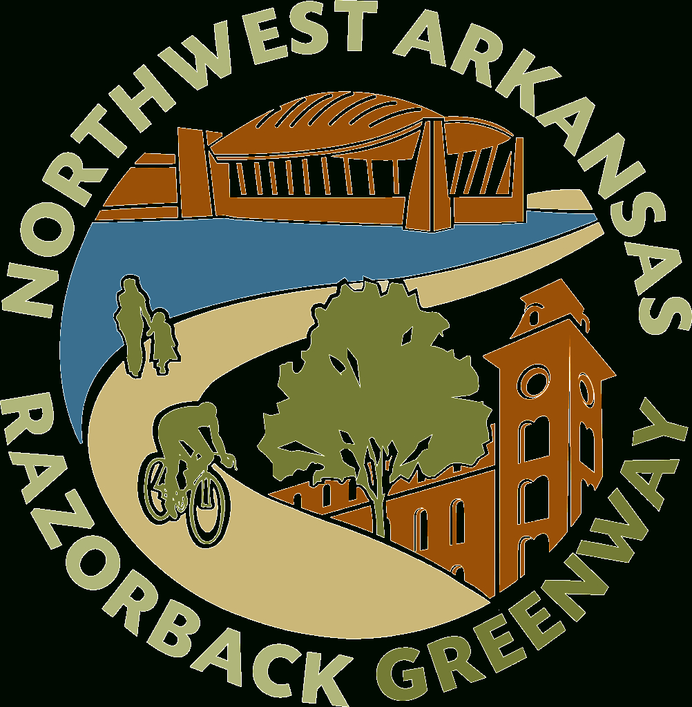 Razorback Regional Greenway | Nwa Trails - Razorback Greenway Printable Map