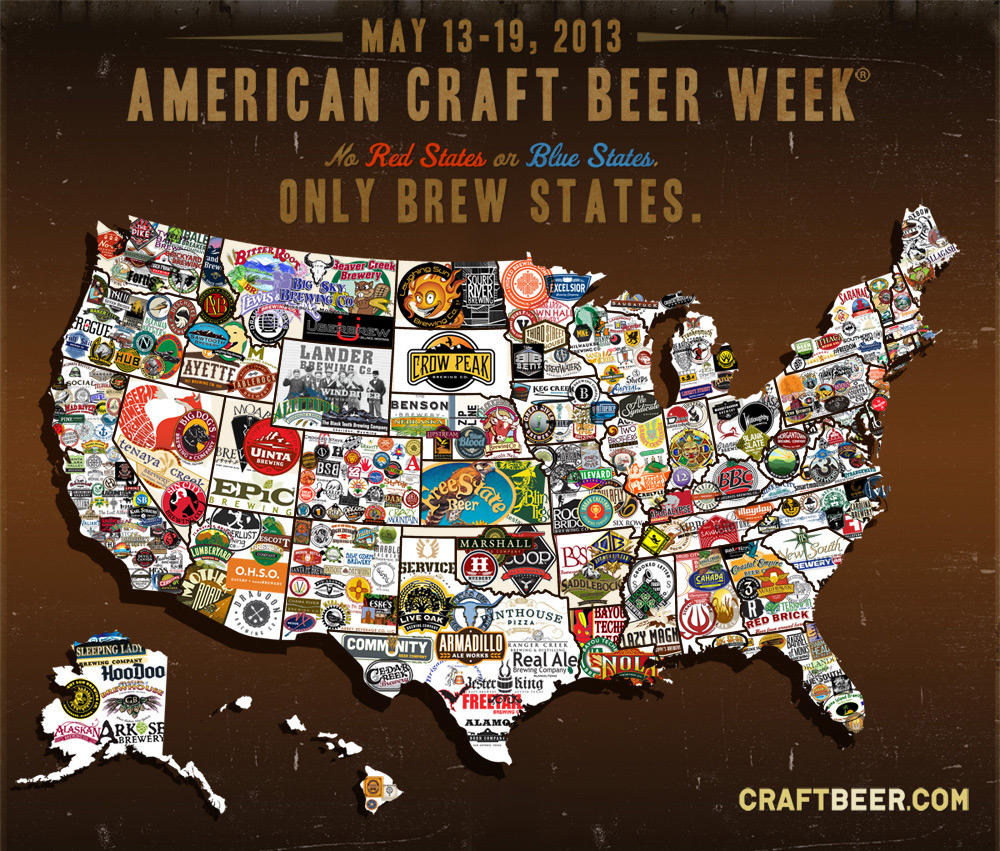 Realbeer Beer Therapy » Blog Archive » A Map For American Craft - Texas Breweries Map