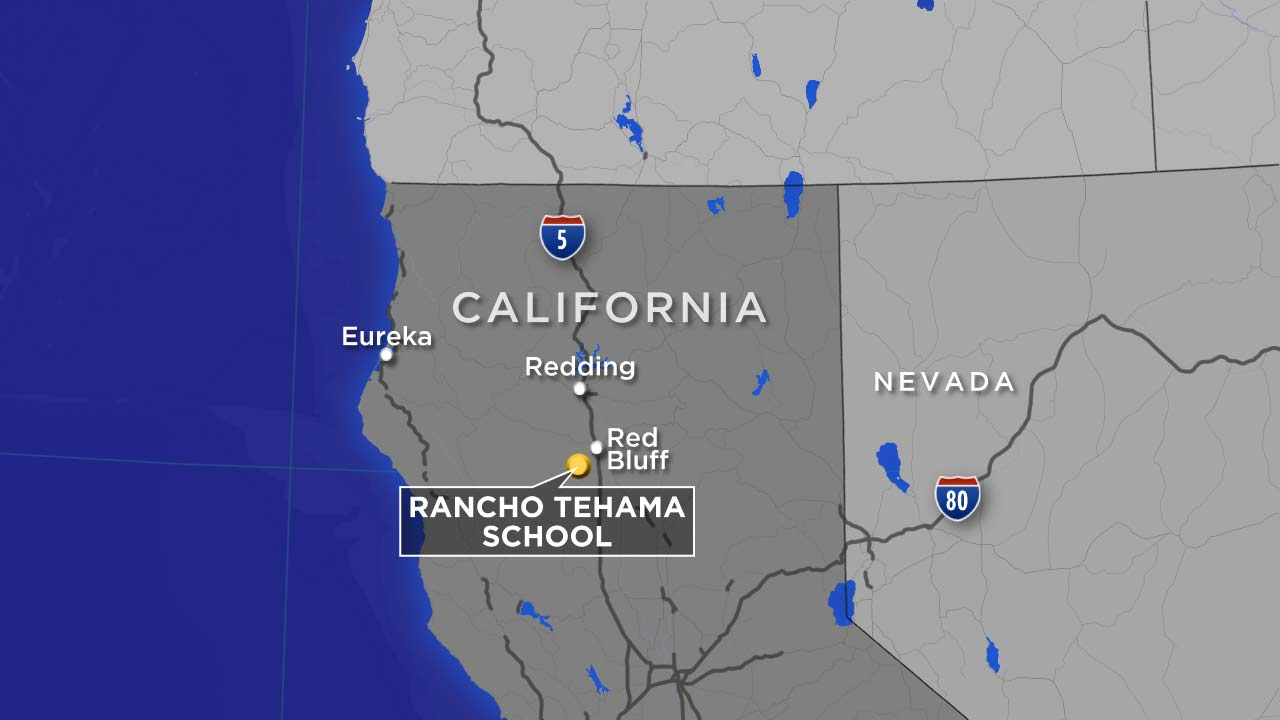 Red Bluff, Tehama County Shootings: What We Know So Far | Abc13 - Red Bluff California Map