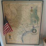 Reduced:vintage Texas Map Large Framed Nap Of Texas Texas | Etsy   Vintage Texas Map Framed