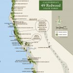 Redwood Parks Pass Google Maps California Map California State Parks   National Parks In Northern California Map