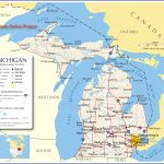 Reference Map Of Michigan, Usa   Nations Online Project | ~ The   Printable Map Of Upper Peninsula Michigan