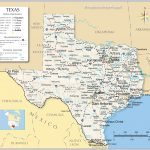 Reference Maps Of Texas, Usa   Nations Online Project   Map Of Texas